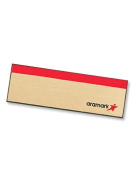 58026 Aramark Gold Name Badge from Aramark