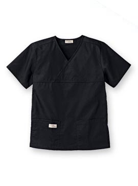 ba3ab699a6236 9501 Urbane® Women's Solid Double Pocket Crossover Scrub Top from ...