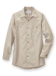 Aramark Long-Sleeve Industrial Work Shirt
