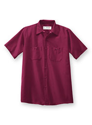 Aramark Short-Sleeve Industrial Work Shirt