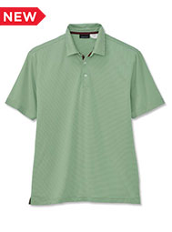 A.Mark Studio™ Men's Micro-Stripe Short-Sleeve Polo