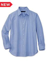 A.Mark Studio™ Men's Long-Sleeve End-on-End Dress Shirt