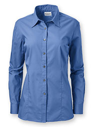 WearGuard® Women's Long-Sleeve Poplin Shirt