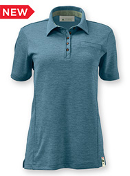 Women's Eco Short-Sleeve Polo