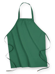 Aramark No-Pocket Industrial Bib Apron