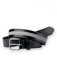 Leather Belt With Reflective