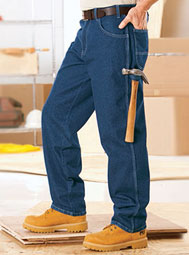 ARAMARK Heavy-Duty Carpenter Jeans