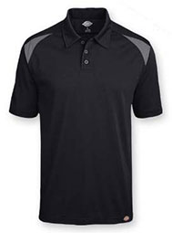 Dickies® Short-Sleeve Performance Color Block Polo