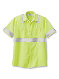 Aramark High-Visibility ANSI II Short-Sleeve Shirt