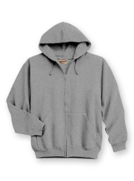 WearGuard® WearTuff™ Low-Shrink Hooded Zip-Front Sweatshirt