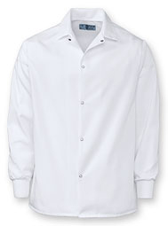 Aramark Knit Cuff Short Length Lab Coat