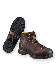 "Men's Timberland PRO® Endurance 6"" Steel-Toe Work Boots"