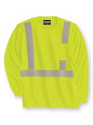 WearGuard® Long-Sleeve Class 2 High-Visibility T-Shirt